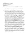 Dean's Significant Activities Report 05-10-2019