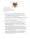 Dean's Significant Activities Report 06-07-2019