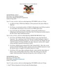 Dean's Significant Activities Report 06-28-2019
