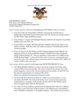 Dean's Significant Activities Report 07-05-2019
