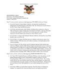 Dean's Significant Activities Report 07-12-2019