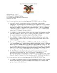 Dean's Significant Activities Report 07-26-2019