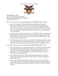 Dean's Significant Activities Report 08-23-2019