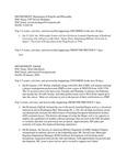 Dean's Significant Activities Report 01-10-2020