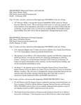 Dean's Significant Activities Report 02-14-2020 by Katie Daily