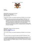 Dean's Significant Activities Report 07-31-2020